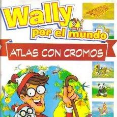 Coleccionismo Álbumes: WALLY POR EL MUNDO ( ORBIS ) ORIGINAL 1997. Lote 27247143