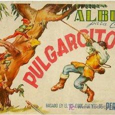 Coleccionismo Álbumes: PULGARCITO - ALBUM DE CROMOS. Lote 25294985