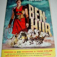 Coleccionismo Álbumes: ANTIGUO ALBUM DE CROMOS, BEN HUR - LE FALTAN 9 CROMOS, QUE SON LOS NUMEROS 35 -61 - 69 - 74 - +102. Lote 26919693