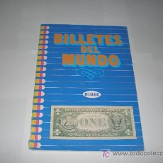 Coleccionismo Álbumes: ALBUM BILLETES DEL MUNDO DE DIDEC LE FALTA 2 CROMOS. Lote 26529003