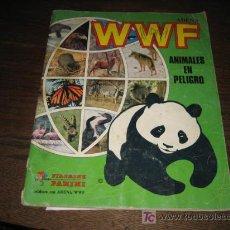 Coleccionismo Álbumes: WWF ANIMALES EN PELIGRO ...PANINI...360 CROMOS DE LOS QUE FALTAN 210. Lote 13637415