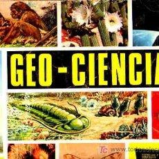 Coleccionismo Álbumes: ALBUM DE CROMOS (GEO CIENCIAS) (KEISA) (343-CROMOS - FALTAN-122). Lote 7320062