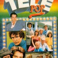 Coleccionismo Álbumes: ALBUM CON 125 DE 196 CROMOS TELE-POP AÑOS 80 EDICIONES ESTE CINE T.V. CANCIÓN TAMBIÉN POR UNIDAD. Lote 27162703