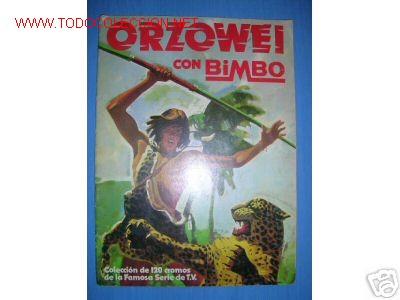 ORZOWEI CON BIMBO. ALBUM VACIO... (Coleccionismo - Cromos y Álbumes - Álbumes Incompletos)