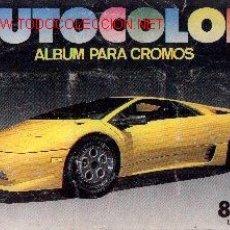Coleccionismo Álbumes: CRO21-1. ALBUM DE CROMOS AUTOCOLOR. INCOMPLETO. Lote 8131940