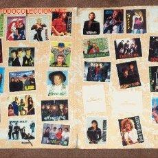 Coleccionismo Álbumes: ALBUM CARPETA ¡PÉGATE A LAS ESTRELLAS DEL ROCK! DIFICILÍSIMO. MATUTANO REGALO CARPETA YOPLAIT HOCKEY. Lote 11515323