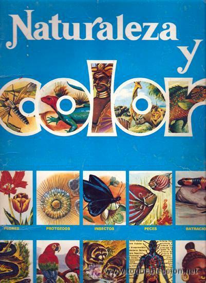 NATURALEZA Y COLOR ALBUM REGALO 30 CROMOS (Coleccionismo - Cromos y Álbumes - Álbumes Incompletos)