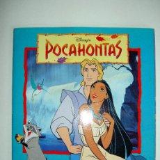 Coleccionismo Álbumes: ALBUM DE CROMOS POCAHONTAS, DE PANINI, INCOMPLETO. Lote 16264203