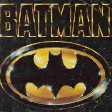 Coleccionismo Álbumes: ALBUM DE CROMOS - BATMAN - INCOMPLETO. Lote 10835782