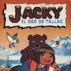 Coleccionismo Álbumes: JACKY EL OSO DE TALLAC. DANONE. FALTAN 3 CROMOS DE 94. Lote 18577338