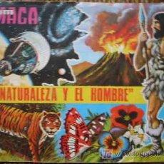 Coleccionismo Álbumes: LA NATURALEZA Y EL HOMBRE - ALBUM MAGA. Lote 11319804