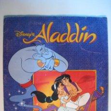 Coleccionismo Álbumes: ALBUM CROMOS ALADIN - PANINI DISNEY (CON 162). Lote 11343557