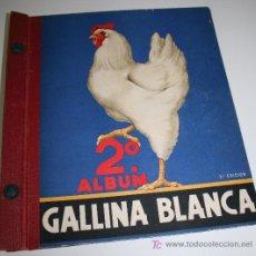 Coleccionismo Álbumes: SEGUNDO ALBUM GALLINA BLANCA - 2º EDICIÓN - INCOMPLETO. Lote 26924195