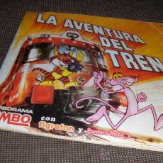 Coleccionismo Álbumes: LA AVENTURA DEL TREN. BIMBO. LA PANTERA ROSA Y TIGRETON.. Lote 26850774
