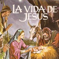 Coleccionismo Álbumes: ALBUM CROMOS INCOMPLETO LA VIDA DE JESUS RUIZ ROMERO FALTAN 43 CROMOS. Lote 12907710