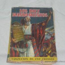 Coleccionismo Álbumes: ALBUM - LOS DIEZ MANDAMIENTOS - AÑO 1959.. Lote 24956124