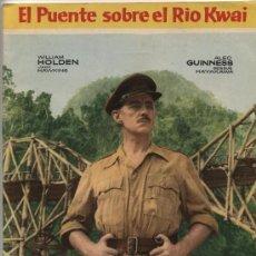 Coleccionismo Álbumes: EL PUENTE SOBRE EL RÍO KWAI. FHER 1958 ¡IMPECABLE!. TIENE SOLO 67 CROMOS. Lote 16190498