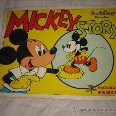 Coleccionismo Álbumes: MICKEY STORY WALT DISNEY PANINI LE FALTAN 60 CROMOS DE 360. Lote 26830621