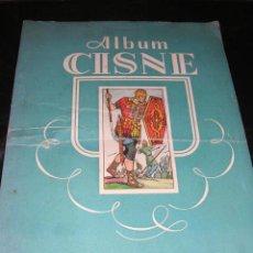 Coleccionismo Álbumes: ALBUM VACIO - ALBUM CISNE COLECCION DE 120 CROMOS - RARO. Lote 14565962