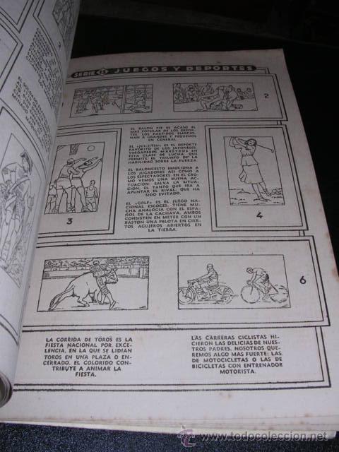Coleccionismo Álbumes: ALBUM VACIO - ALBUM CISNE COLECCION DE 120 CROMOS - RARO - Foto 3 - 14565962