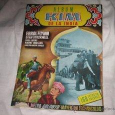 Coleccionismo Álbumes: KIM DE LA INDIA DISTRIBUIDO POR GERPLA.....LE FALTAN 124 DE 168 . Lote 21307291
