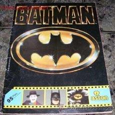 Coleccionismo Álbumes: ALBUM BATMAN PANINI - FALTAN 106 CROMOS. Lote 21730009