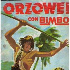 Coleccionismo Álbumes: ORZOWEI. BIMBO. ÁLBUM VACÍO.. Lote 23851446