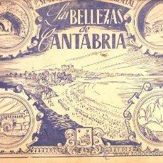 Coleccionismo Álbumes: ALBUM INCOMPLETO LAS BELLEZAS DE CANTABRIA . Lote 15090885