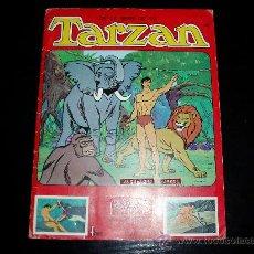 Coleccionismo Álbumes: ALBUM DE CROMOS DE TARZAN. EDITORIAL FHER. 1979. INCOMPLETO.. Lote 15110762