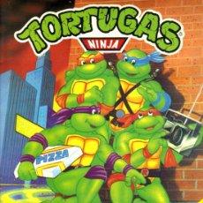 Coleccionismo Álbumes: ALBUM CROMOS / TORTUGAS NINJA. Lote 27399302