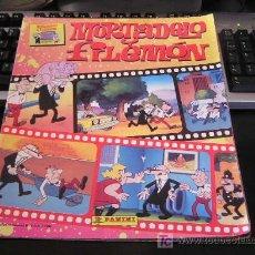 Coleccionismo Álbumes: MORTADELO Y FILEMON ALBUM PANINI 1994 CON 130 CROMOS. Lote 98854786