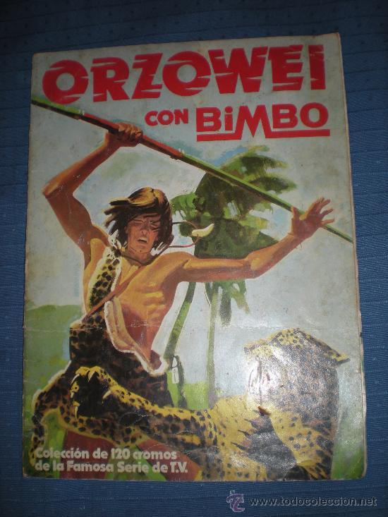 ORZOWEI CON BIMBO 23 CROMOS (Coleccionismo - Cromos y Álbumes - Álbumes Incompletos)