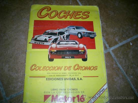 ALBUM DE CROMOS AÑOS 80 139 CROMOS DE 162 (Coleccionismo - Cromos y Álbumes - Álbumes Incompletos)