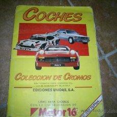 Coleccionismo Álbumes: ALBUM DE CROMOS AÑOS 80 139 CROMOS DE 162. Lote 27563667