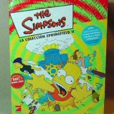 Coleccionismo Álbumes: ALBUM INCOMPLETO, THE SIMPSONS, LA 2º COLECCION SPRINGFIELD, PANINI, STICKERS. Lote 16282683