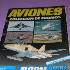 Collectable Incomplete Albums - ALBUM DE CROMOS ... AVIONES *** DE CUSCO / CONTIENE POSTER CENTRAL AVION MACDONNEL DOUGLAS F/A 18A - 26266095