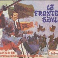 Coleccionismo Álbumes: ALBUM LA FRONTERA AZUL, DE PANRICO - VACÍO Y EN PERFECTO ESTADO. Lote 27518257
