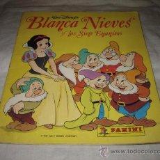 Coleccionismo Álbumes: BLANCA NIEVES Y LOS SETE ENANITOS PANINI FALTAN 21 DE 224. Lote 24032919