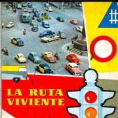 Coleccionismo Álbumes: ALBUM TAPAS DURAS ** LA RUTA VIVIENTE ** NESTLÉ (1960). Lote 27138570
