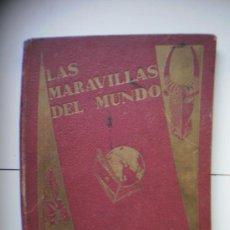 Coleccionismo Álbumes: ALBUM LAS MARAVILLAS DEL MUNDO. Lote 19478881