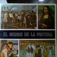 Coleccionismo Álbumes: EL MUNDO DE LA PINTURA, ALBUM DE CROMOS DE DIFUSORA DE CULTURA S.A. TIENE 267 CROMOS DE 280. Lote 27064008