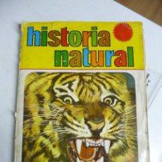 Coleccionismo Álbumes: ALBUM HISTORIA NATURAL AÑO 1967 (FALTA 1 CROMO DE 508). Lote 23937332