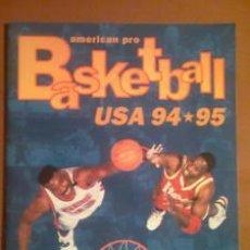 Coleccionismo Álbumes: BASKETBALL USA 94 / 95 ** ALBUM CROMOS * INCOMPLETO * CONTIENE 163 CROMOS DE 192. Lote 25243336
