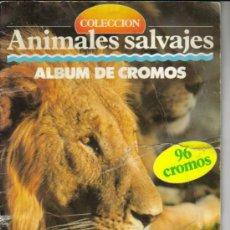 Coleccionismo Álbumes: COLECCION ANIMALES SALVAJES ( MULTILIBRO SA ) . Lote 27366127