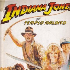 Coleccionismo Álbumes: INDIANA JONES- ALBUM EDITORIAL PACOSA DOS - INCOMPLETO. Lote 18147370