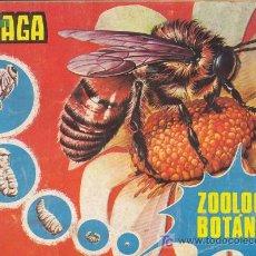 Coleccionismo Álbumes: ZOOLOGIA Y BOTANICA - ALBUM MAGA - INCOMPLETO. Lote 18147467