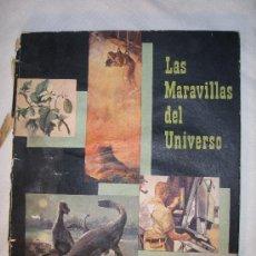 Coleccionismo Álbumes: MARAVILLAS DEL MUNDO CON 99 CROMOS. Lote 27260843