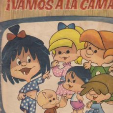 Coleccionismo Álbumes: VAMOS A LA CAMA (LAS FANTASTICAS AVENTURAS DE LA FAMILIA TELERIN) - ALBUM EDITORIAL BRUGUERA - INCOM. Lote 18716556