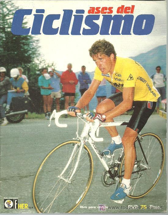 Ases del ciclismo,album años 80,editorial fher, - Sold through ...