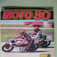 Coleccionismo Álbumes: ALBUM CROMOS : MOTO 80. EDICIONES ESTE. 1977. Lote 19482084